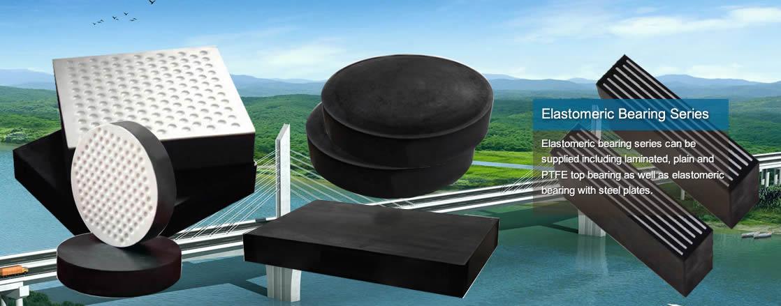 Bridge bearing for and buildings